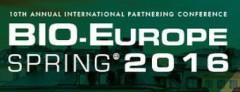 4 — 6 апреля ⇒ 10th Annual International Partnering Conference BIO-Europe Spring 2016