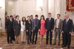 Правительство Москвы наградило молодых ученых