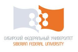 Федеральное государственное автономное образовательное учреждение высшего профессионального образования «Сибирский федеральный университет» (СФУ)
