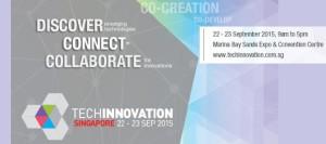 Примите участие в бизнес-выставках TechVenture и TechInnovation: Сингапур, с 21 по 23 сентября.