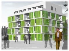 Первый в мире дом, запитанный водорослями, построят в Германии