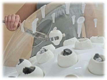 грибы из пластика