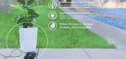 Bioo – первый в мире цветочный горшок, заряжающий смартфон