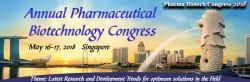 16-17 мая 2018 года, Сингапур ⇒ Ежегодный Фармацевтический Биотехнологический Конгресс