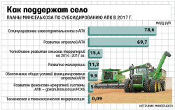Минсельхоз разработал новые правила субсидирования для аграриев. Приоритет – отраслям с импортозамещением