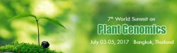 3-5 июля  ⇒  7th International Conference on Plant Genomics 2017