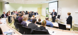 Участие в обсуждении лекции по лесной биоэкономики в СКОЛКОВО _
