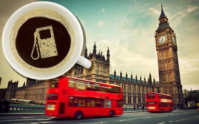 кофе лондон