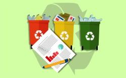 Статистика переработки мусора вмире