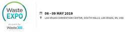 6-9 мая 2019 WasteExpo 2019 — крупнейшая выставка технологий переработки отходов