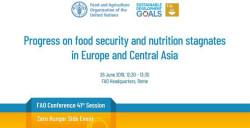 Торможение прогресса в обеспечении продовольственной безопасности и улучшении питания в Европе и Центральной Азии